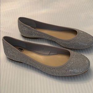 Gianni Bini Flats. Star Brite Silo Grey